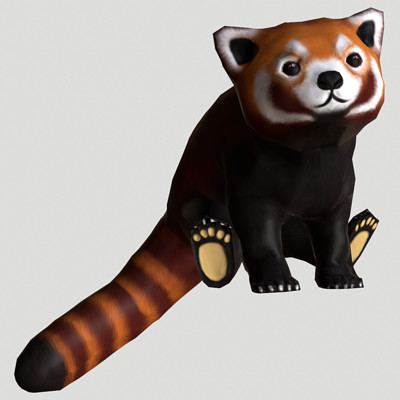 Sietske hereijgers red panda 1