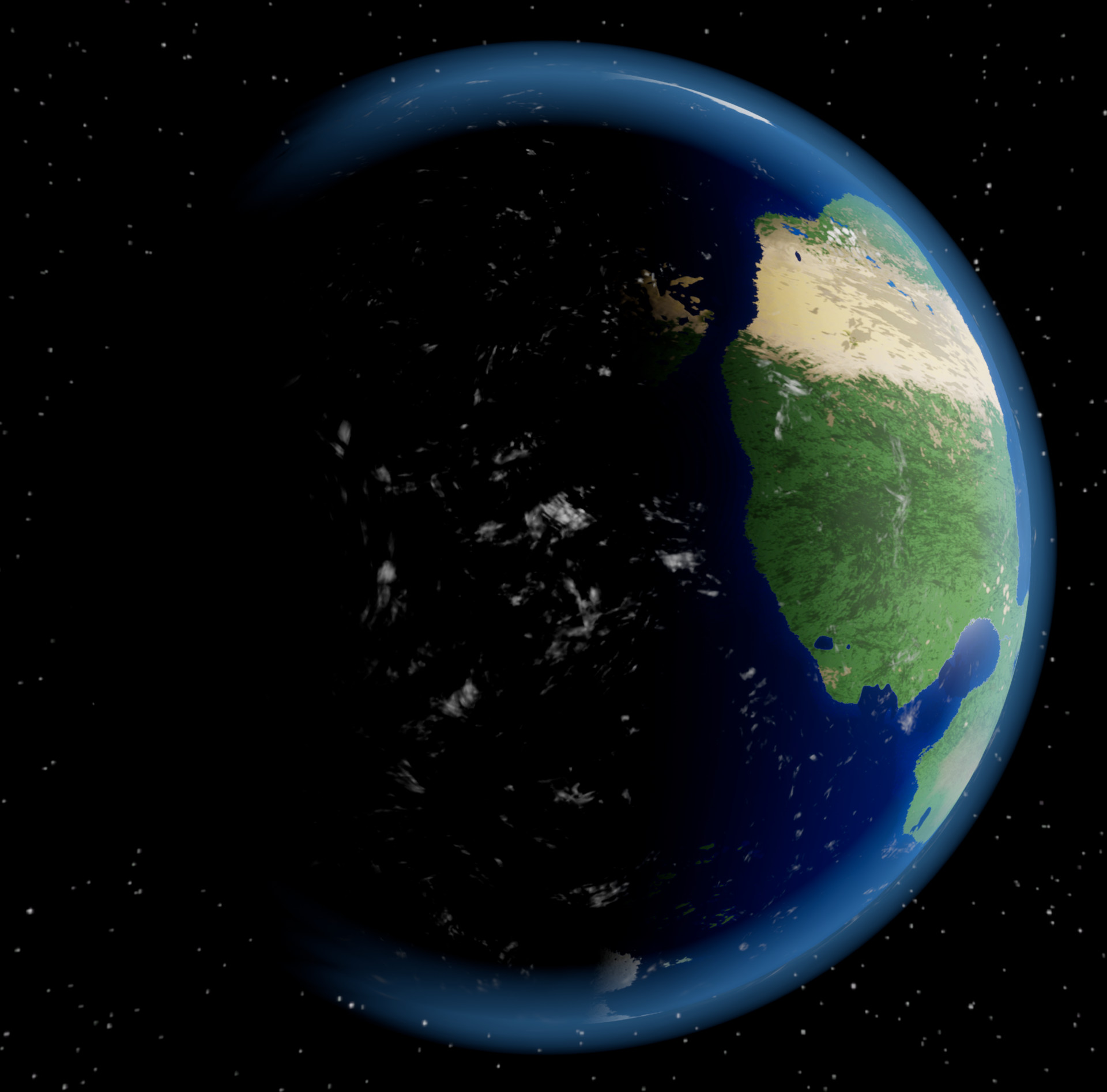 Cole Rempel - Procedural Temperate Planet Generator