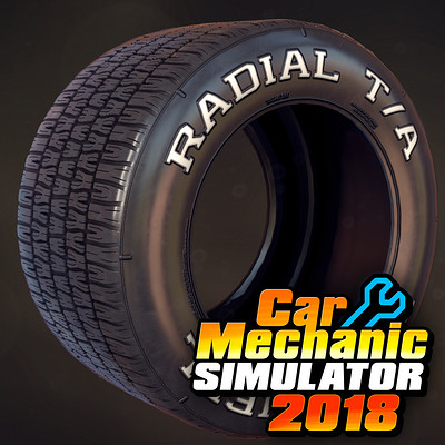 Car Mechanic Simulator 2018 - Tires