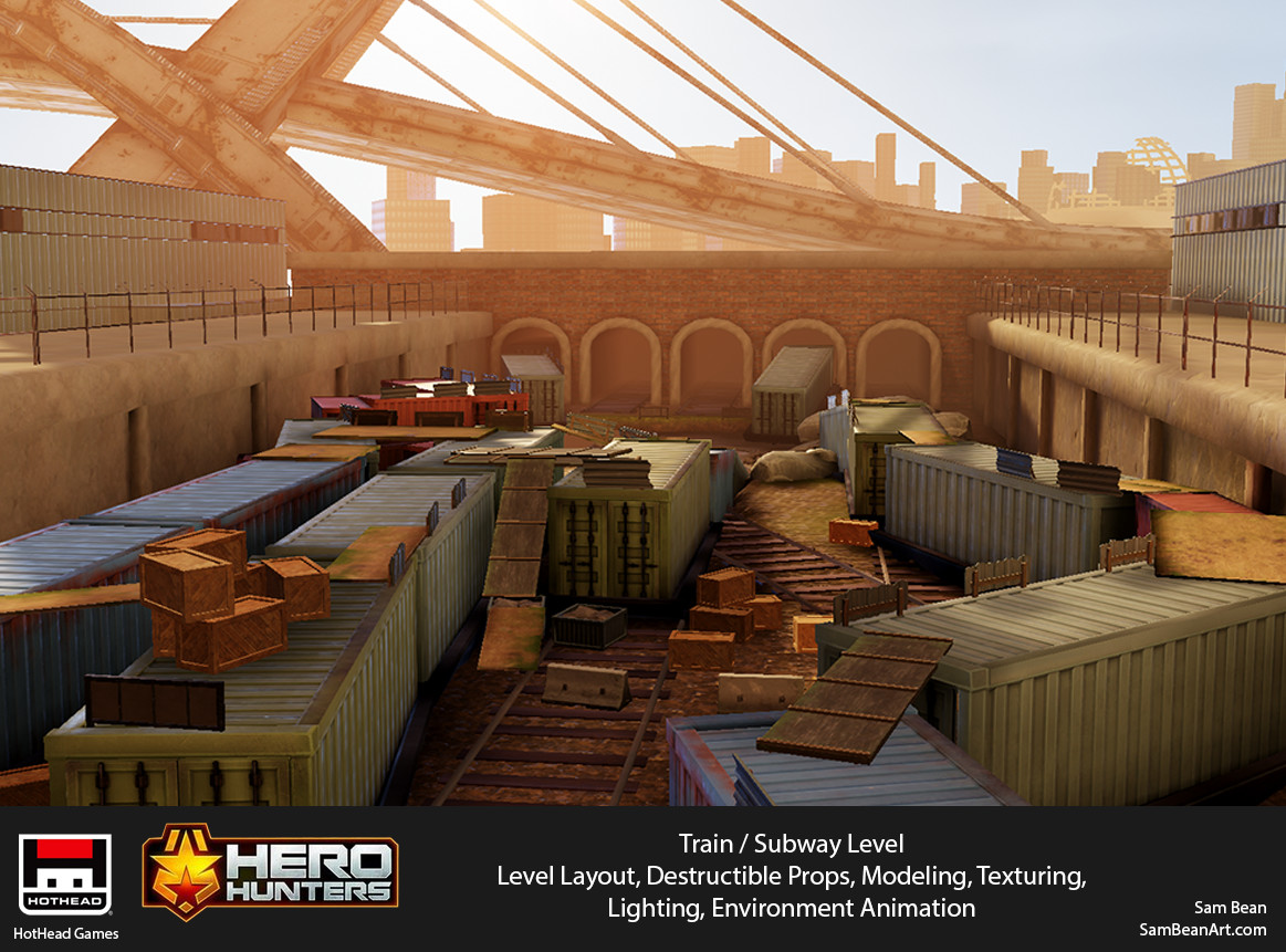 Hero Hunters - Trainyard / Subway Level