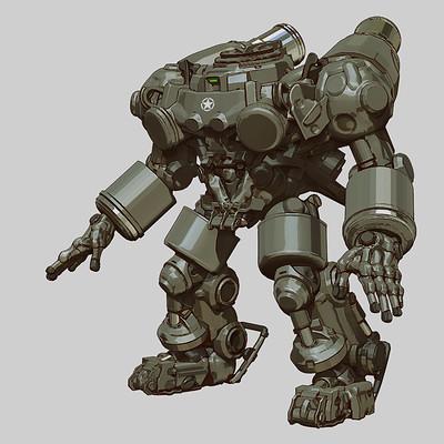Min seub jung robot 01