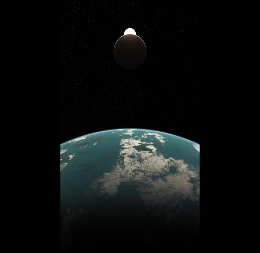 Exoplanet: Überwelt (Cornell Library art contest sub. 3)