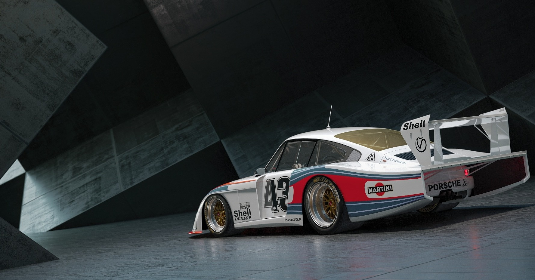 Javi Martinez Porsche 935 Mobidyc Le Mans 1976