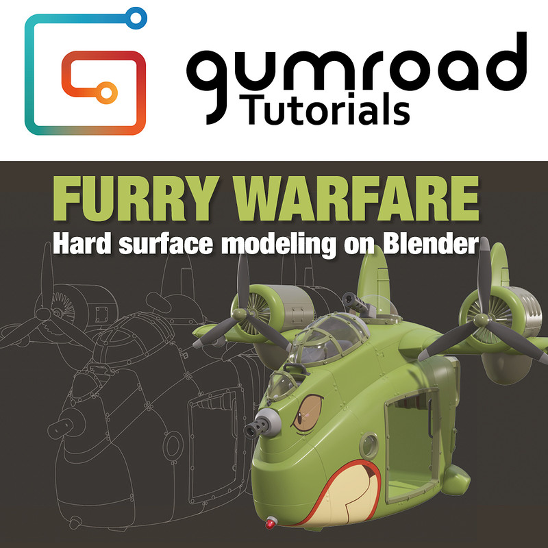Furry Warfare - Hard surface Modeling Tutorial - 10€