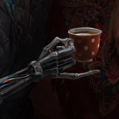 Cyberpunk Babushka