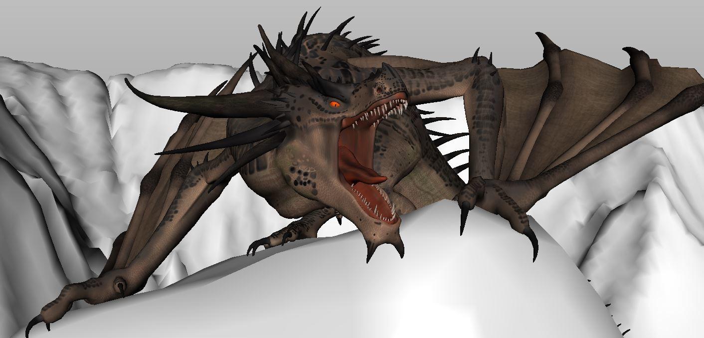 Dragon Flight Animation