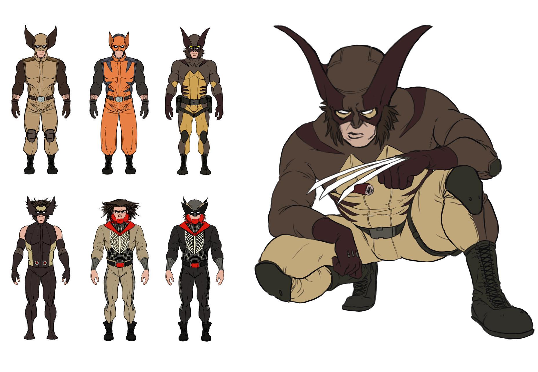 Wolverine Redesigns