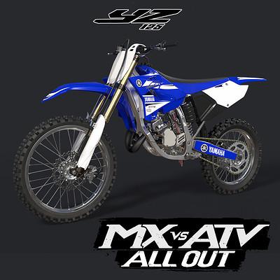 Rally game studio thumb t yz125