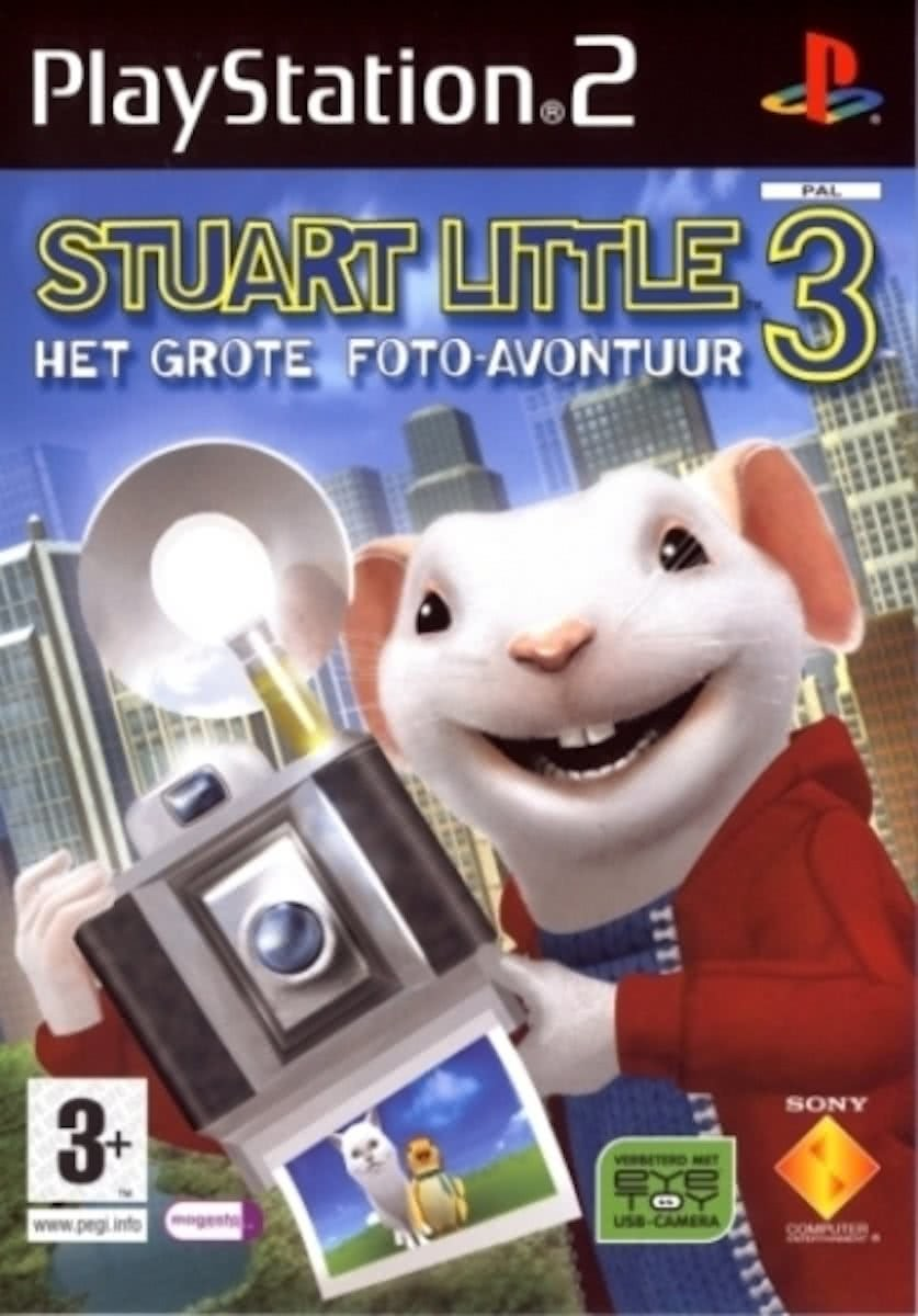 Stuart Little 3 - Trailer E3 2005 (VF) - PS2