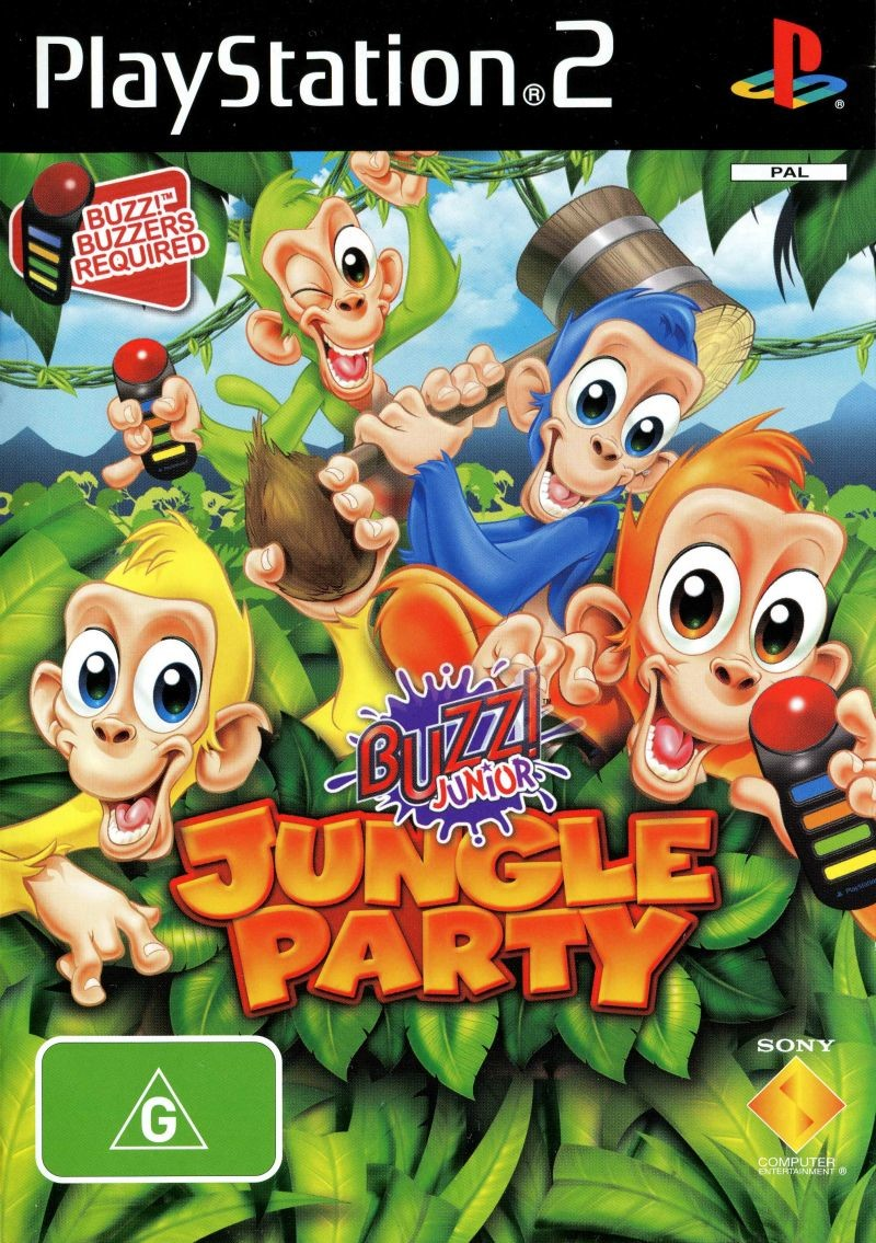 Buzz Junior! Jungle Party trailer PS2