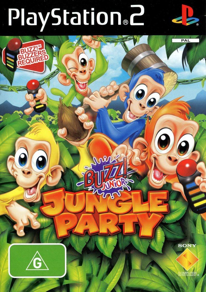 Buzz Junior! Jungle Party trailer PS2