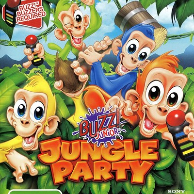 Colin morrison 464631 buzz junior jungle party playstation 2 front cover