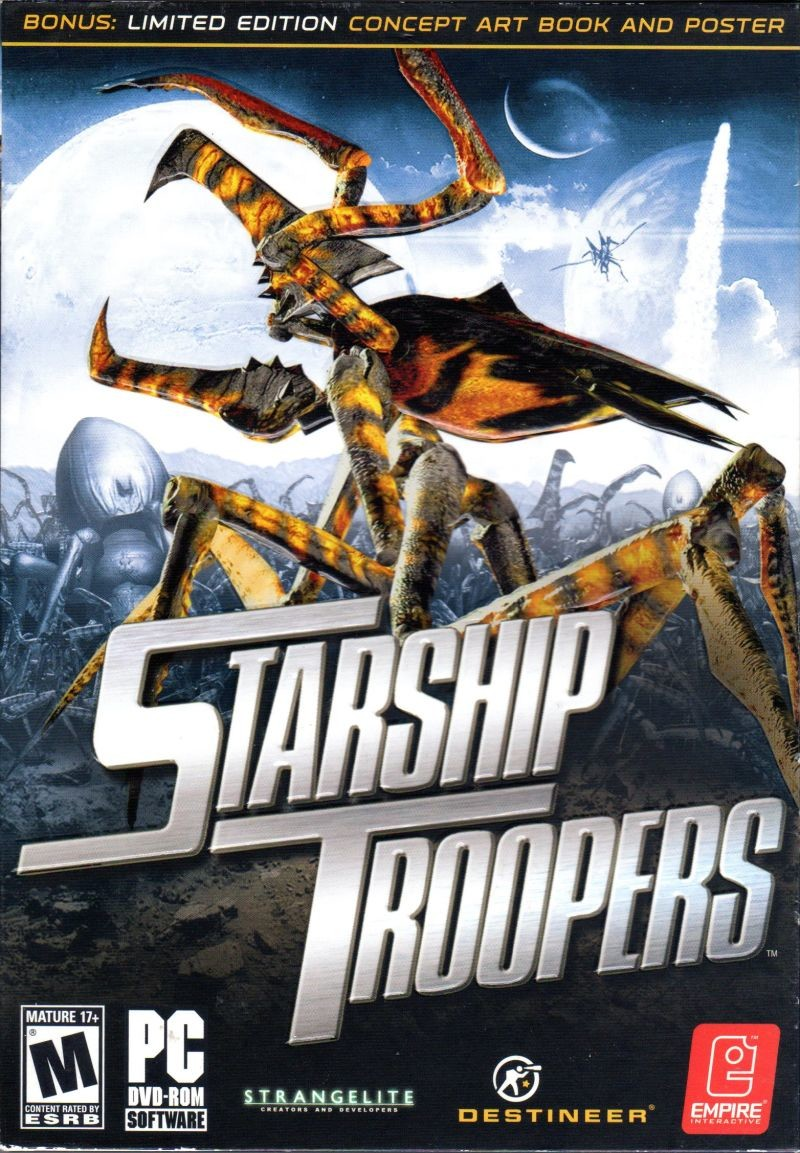 Starship Troopers Game Trailer