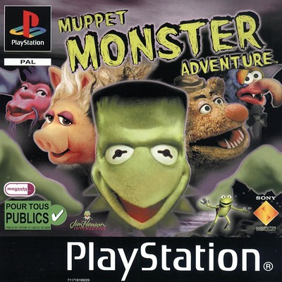 Colin morrison muppet monster adventure pal