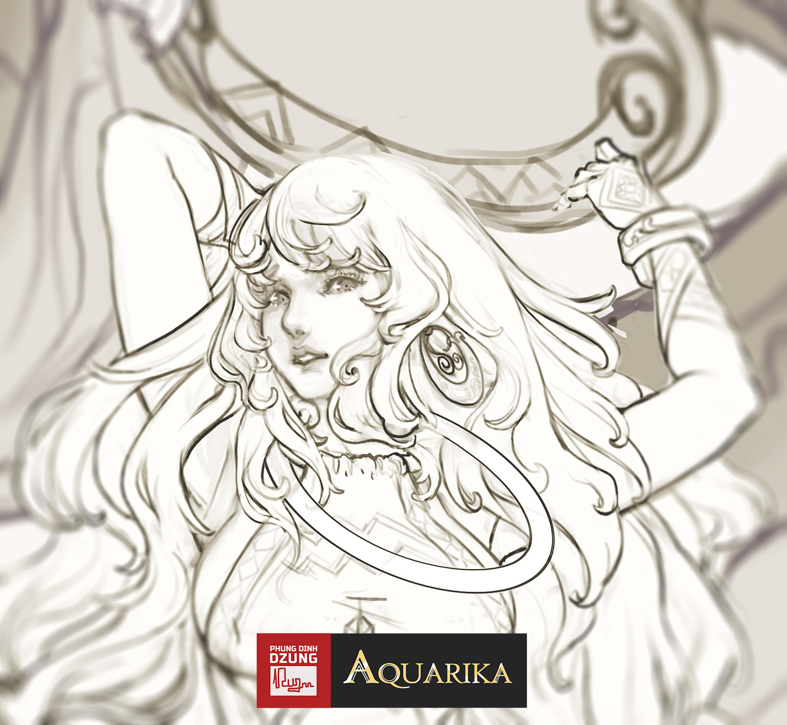Aquarika - Sketch concept