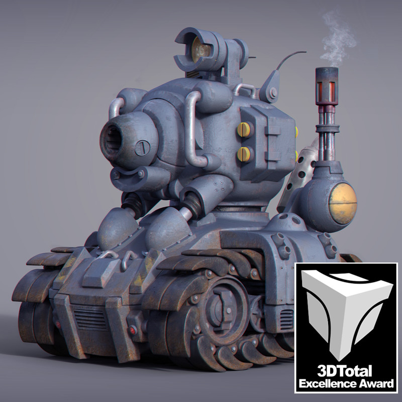 Metal Slug Tank - SV001 | Textured