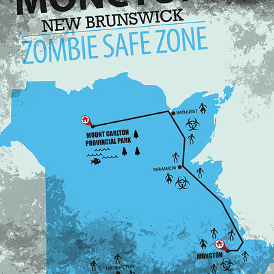 Richard huard zombie map