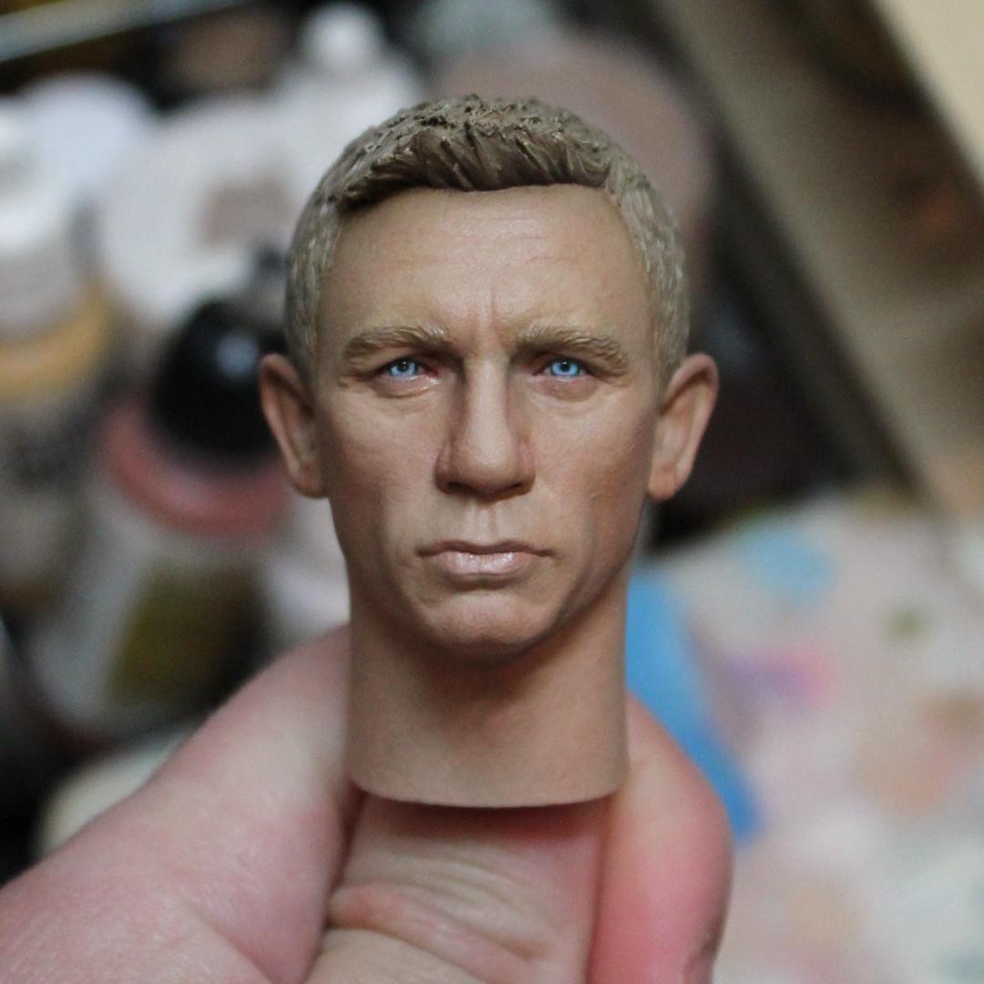 8a8af65089 ArtStation - 1 6 Daniel Craig Head Painting