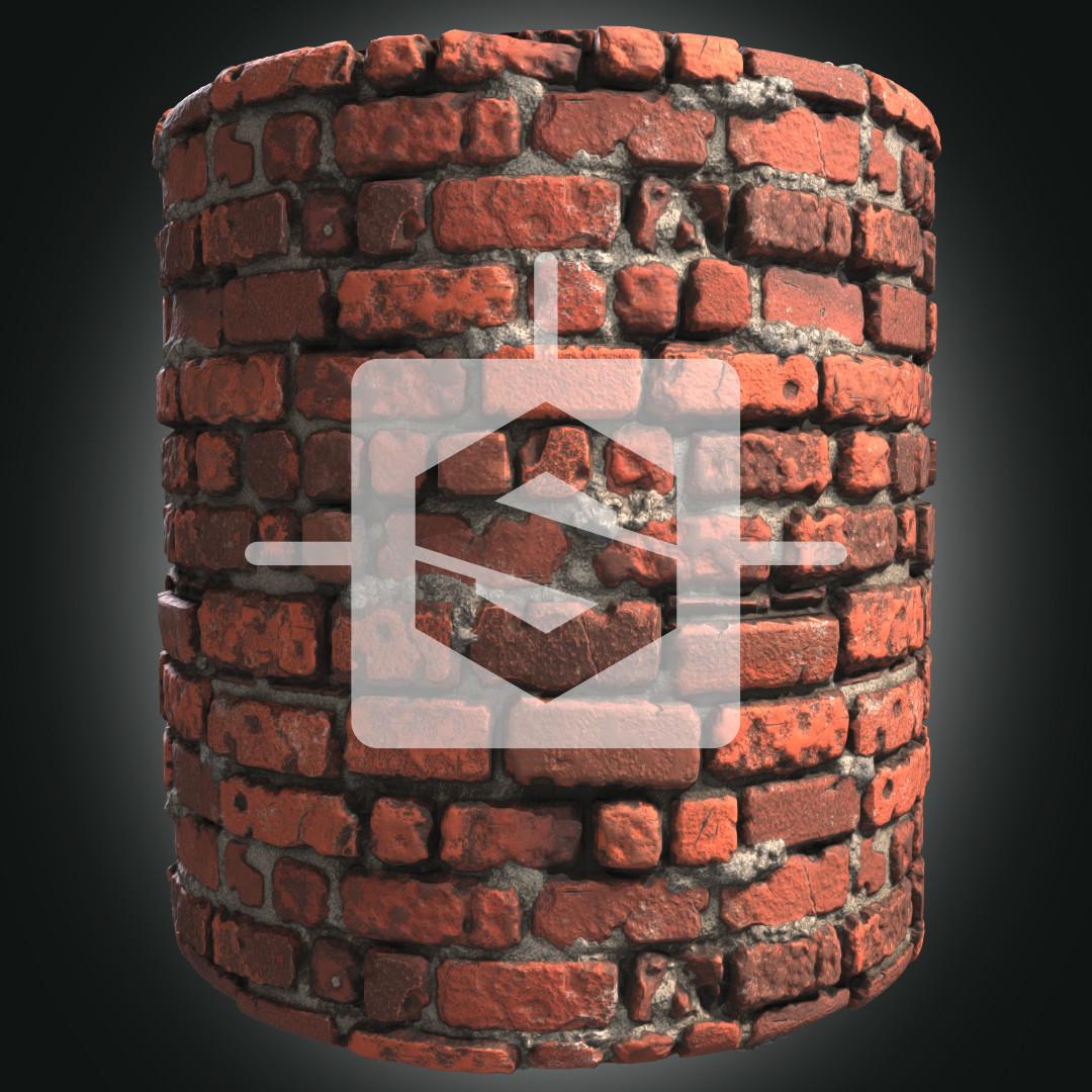 Stylized Bricks Wall