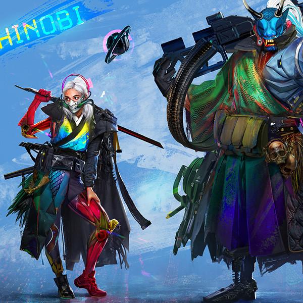 Samurai/shinobi