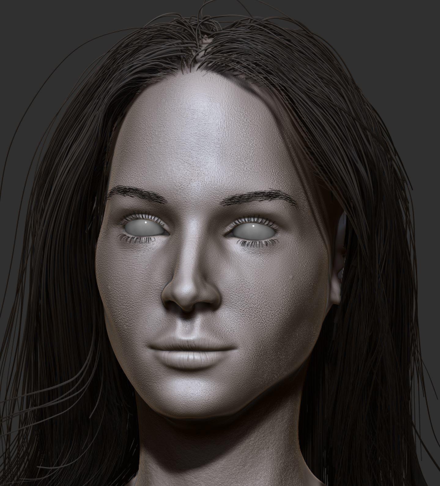 Michael Masuda - female portrait study