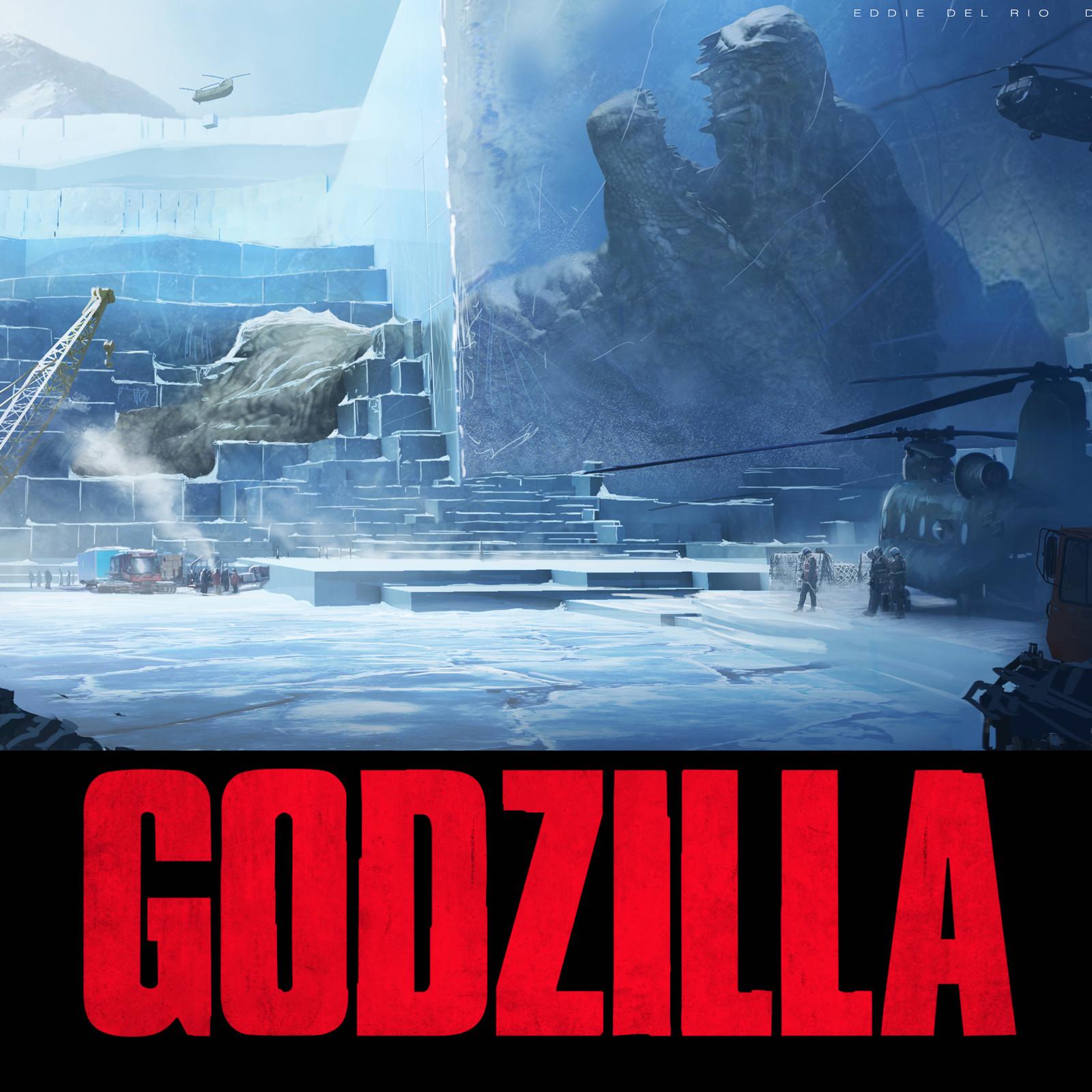 Ancient Godzilla discovery - Godzilla encased
