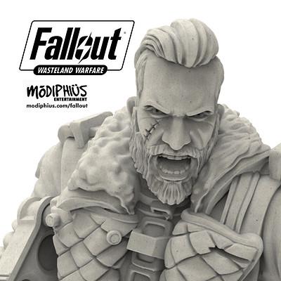 Elder Maxson . Fallout Wasteland Warfare .