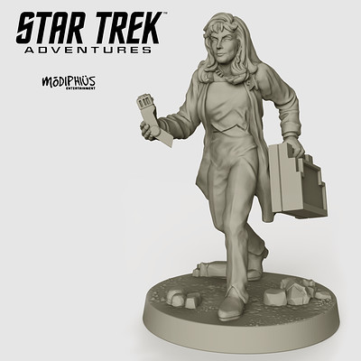 Beverly Crusher - Star Trek Adventures