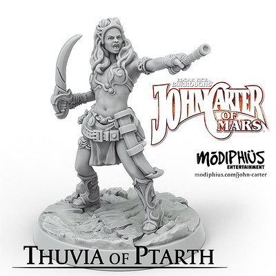 Thuvia of Ptarth - John Carter of Mars