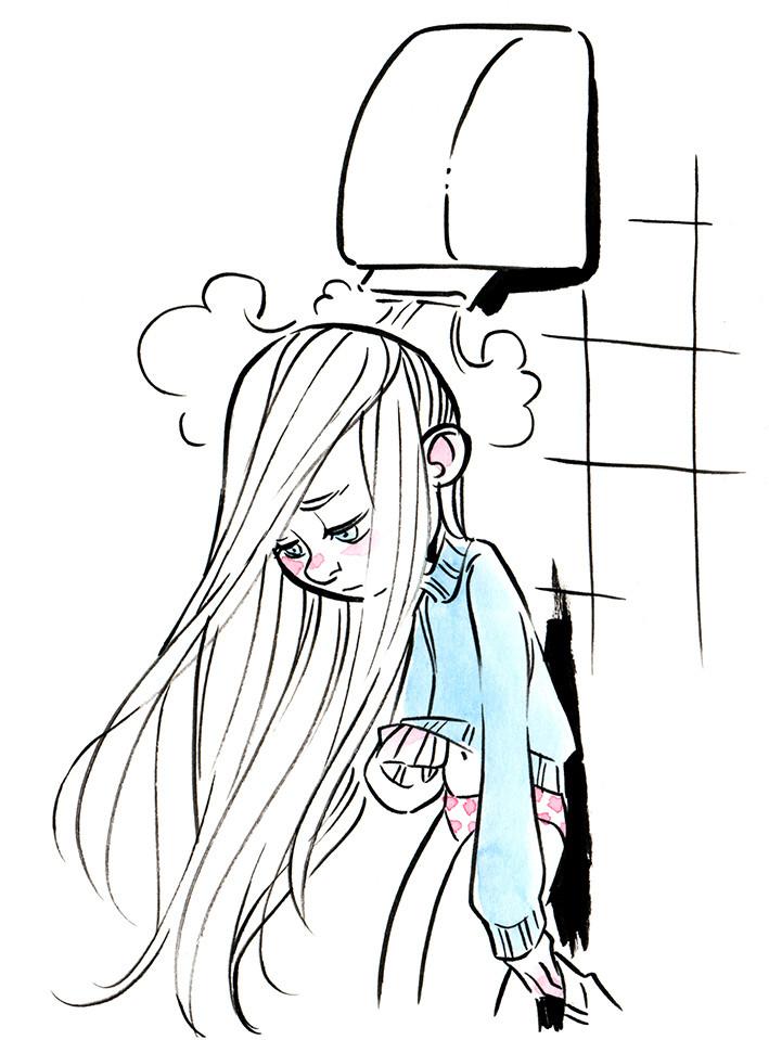 """#InkTober """"Childhood Memories"""" Part 5"""