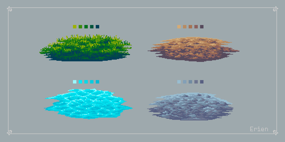 Pixel things #11 // Texture study