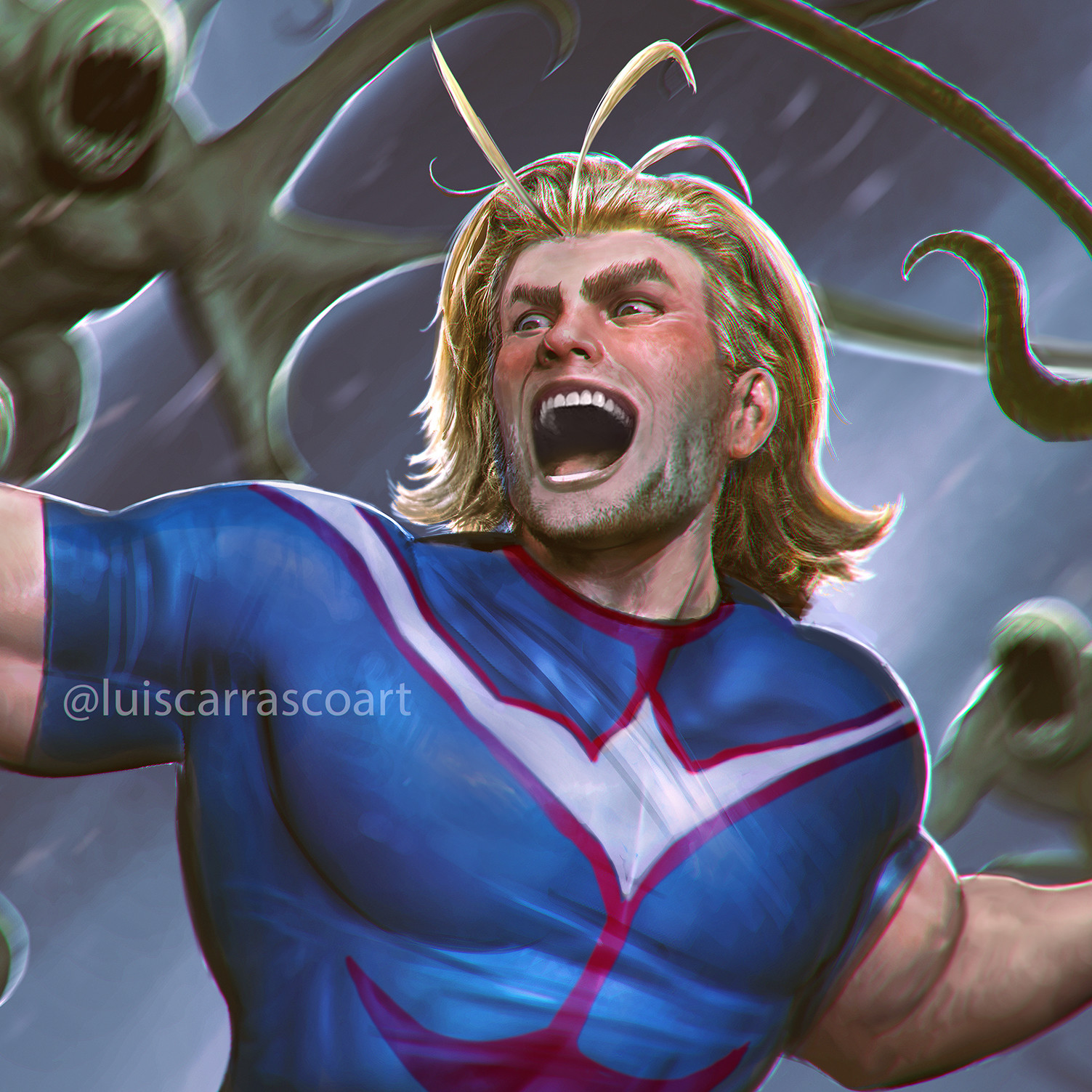 ALMIGHT!! My Hero Academia's #1 Hero!