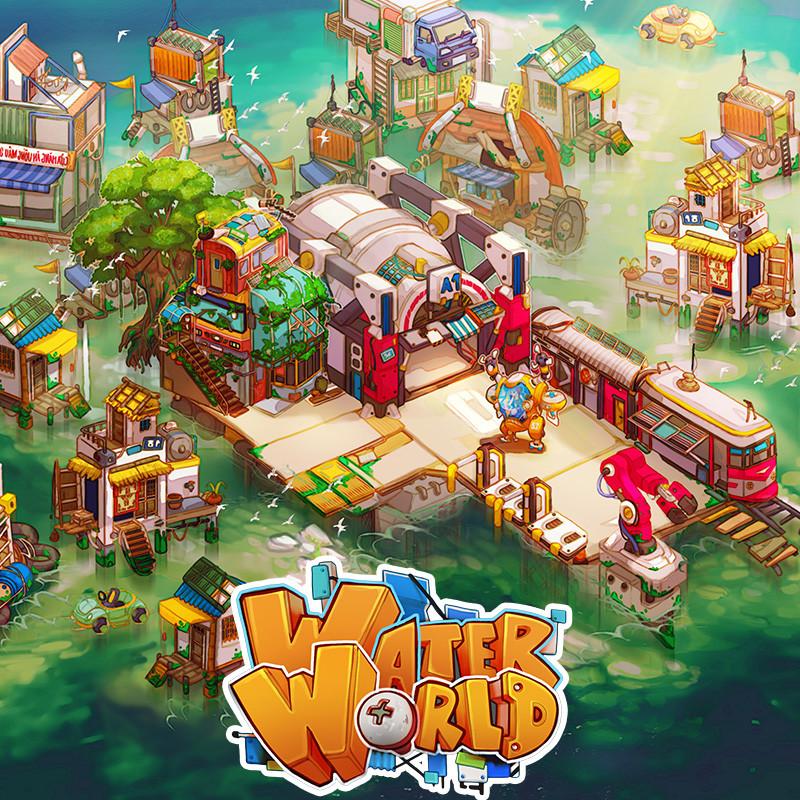 WaterWorld - BARM Town Concept