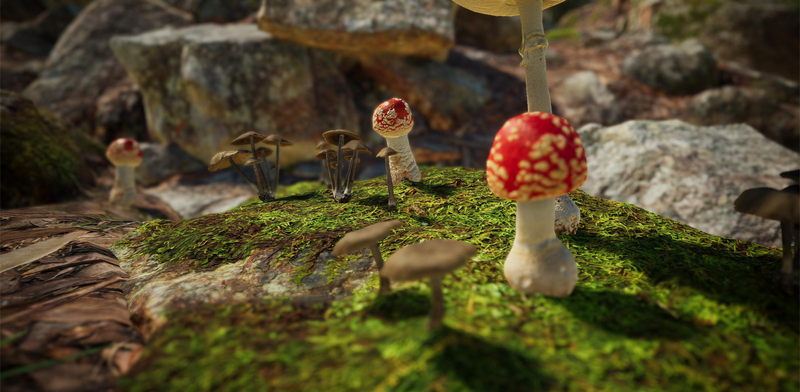 Unity Mushrooms