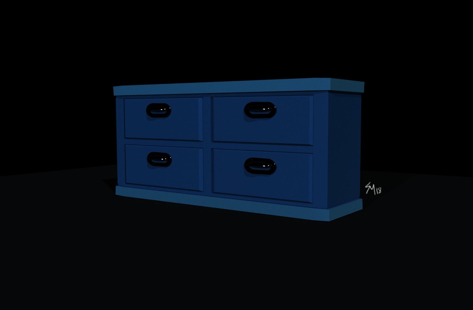 Prop Design/Model: Dresser