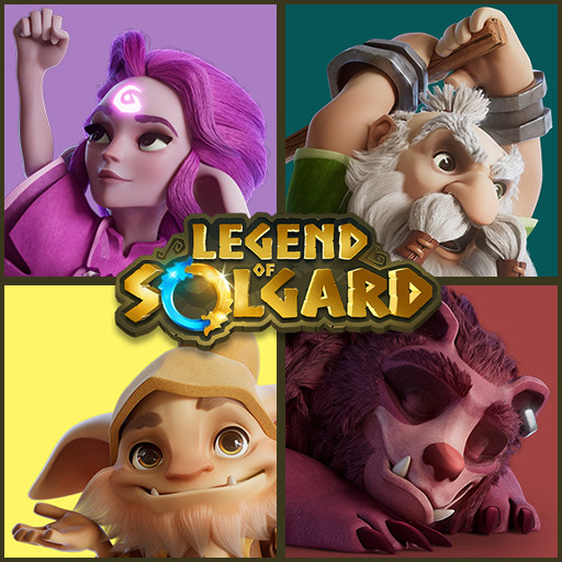 Legend of Solgard - Trailer Characters