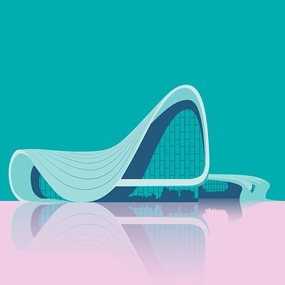 Heydar Aliyev Centre by Zaha Hadid