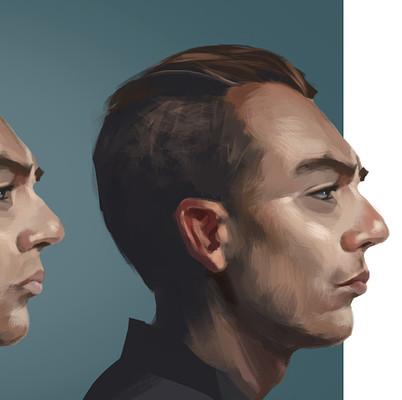 Benjamin goupil portrait study 04 process