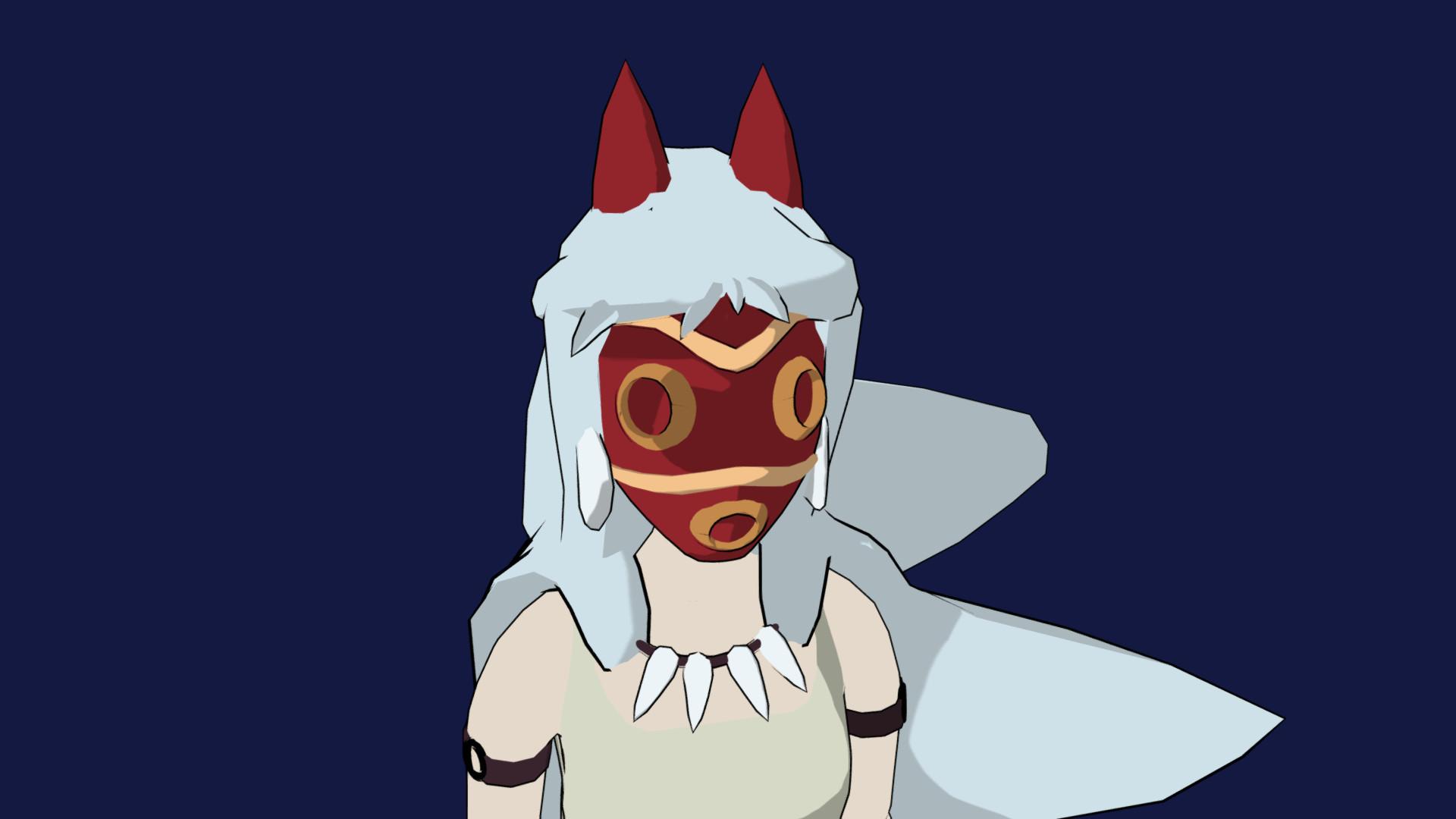 Artstation Princess Mononoke もののけ姫 Lorenzo Mugianesi