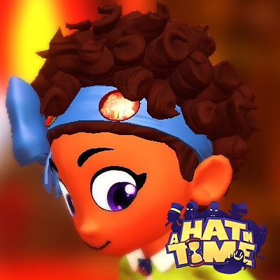 "Bow Kid : ""A Hat in Time - Seal the Deal"" Co-op Character"