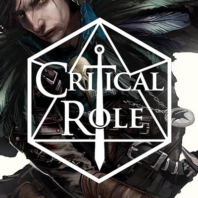 Chaim garcia critical role logo for vax artstation