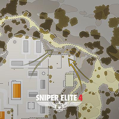 Sniper Elite 4: Maps