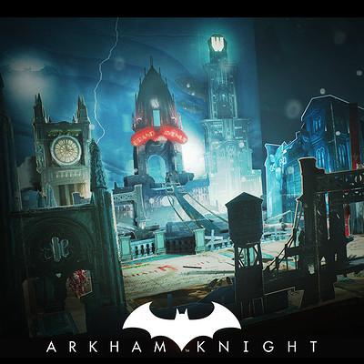 7915d195d3ce5 Batman Arkham Knight - Mad Hatter popup book - Arkham Knight