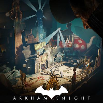 a4163930c9ddd Batman Arkham Knight - Mad Hatter popup book - Arkham City