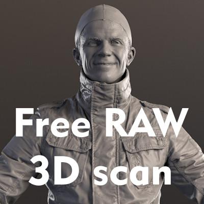 Free RAW 3D scan