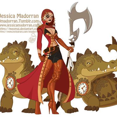 Jessica madorran character design hook 2018 artstation