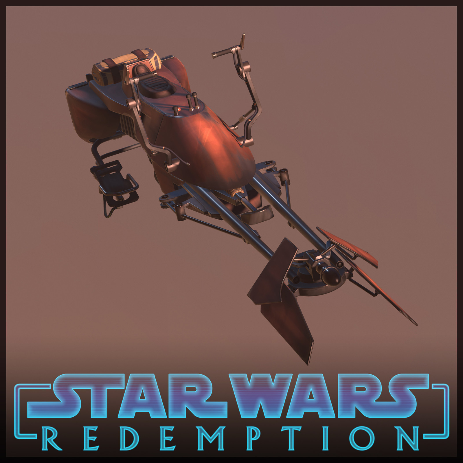 Star Wars - Redemption | SpeederBike 74-Z