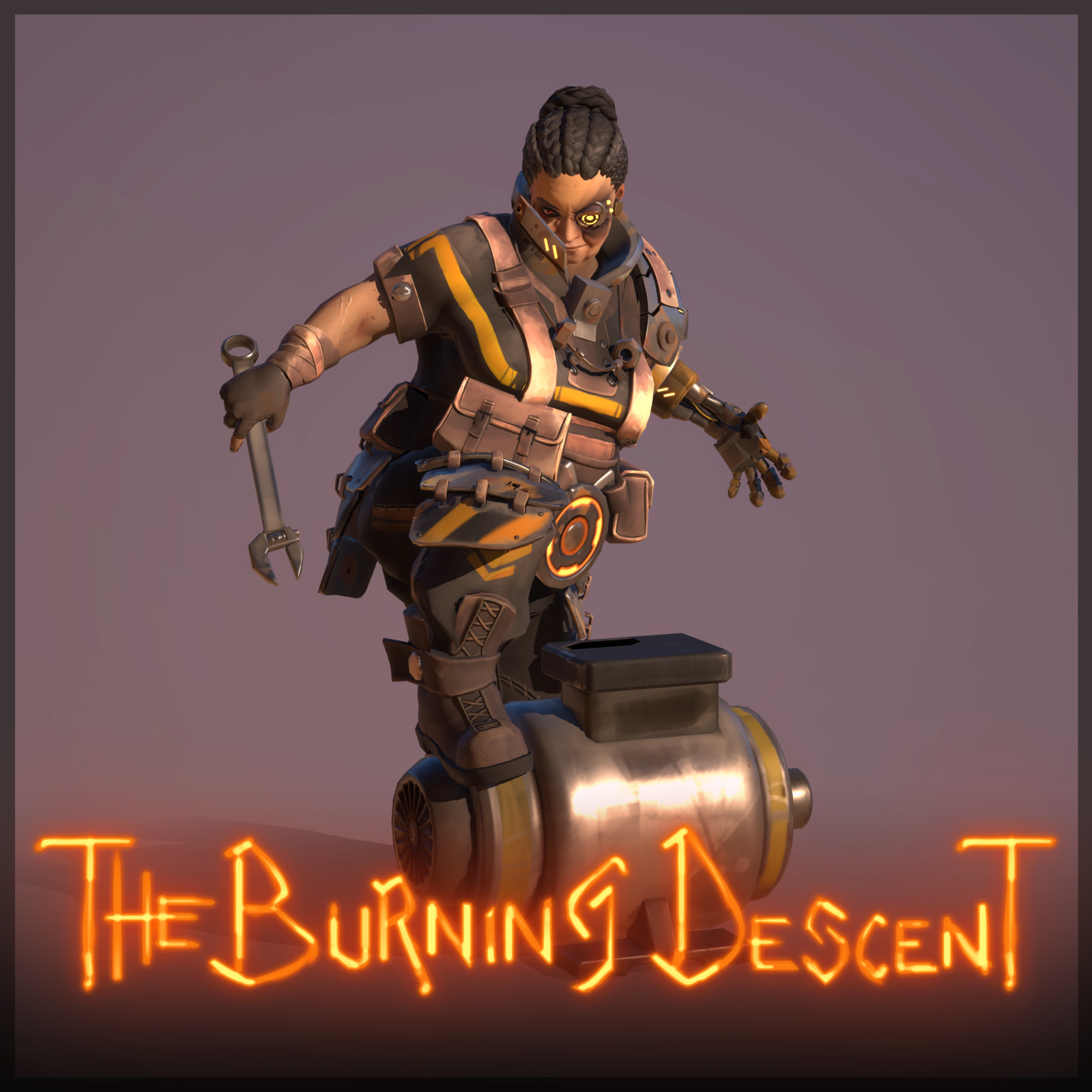 The Burning Descent | Engineer - Klarell