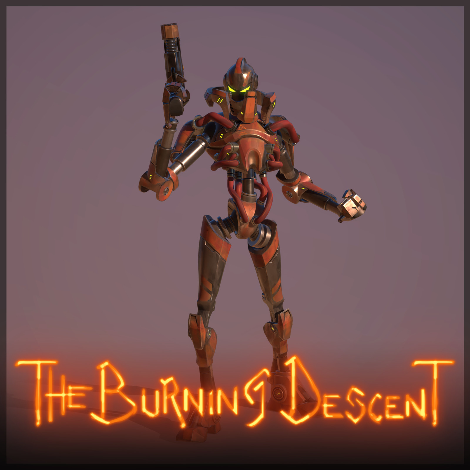 The Burning Descent | Training Bot