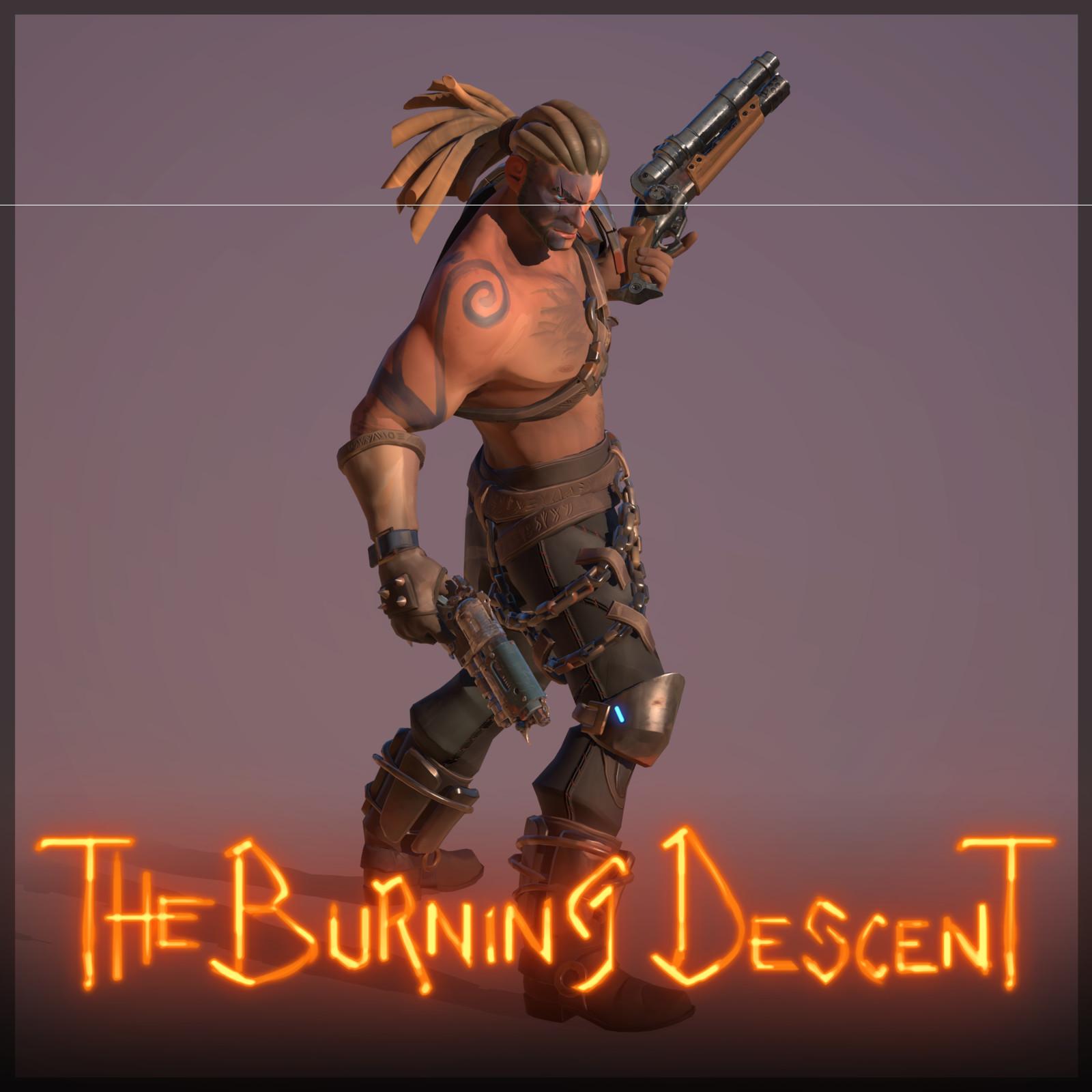 The Burning Descent | Barbarian - BraveDude